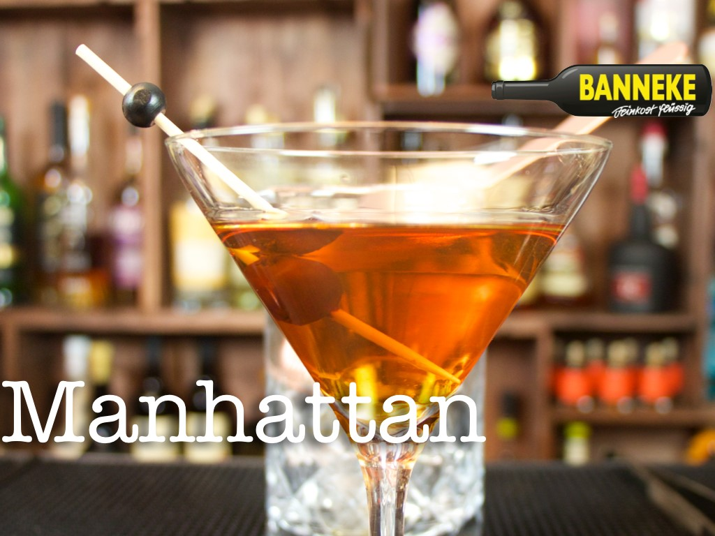 Manhattan Cocktail und andere Cocktails mit Whisky