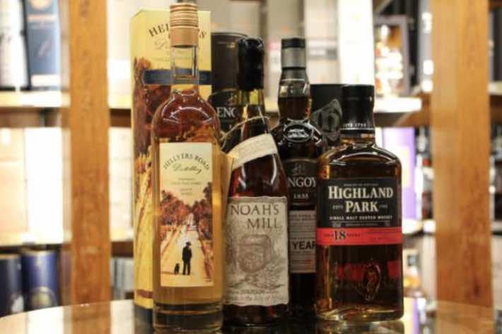 Whisky zum pur trinken