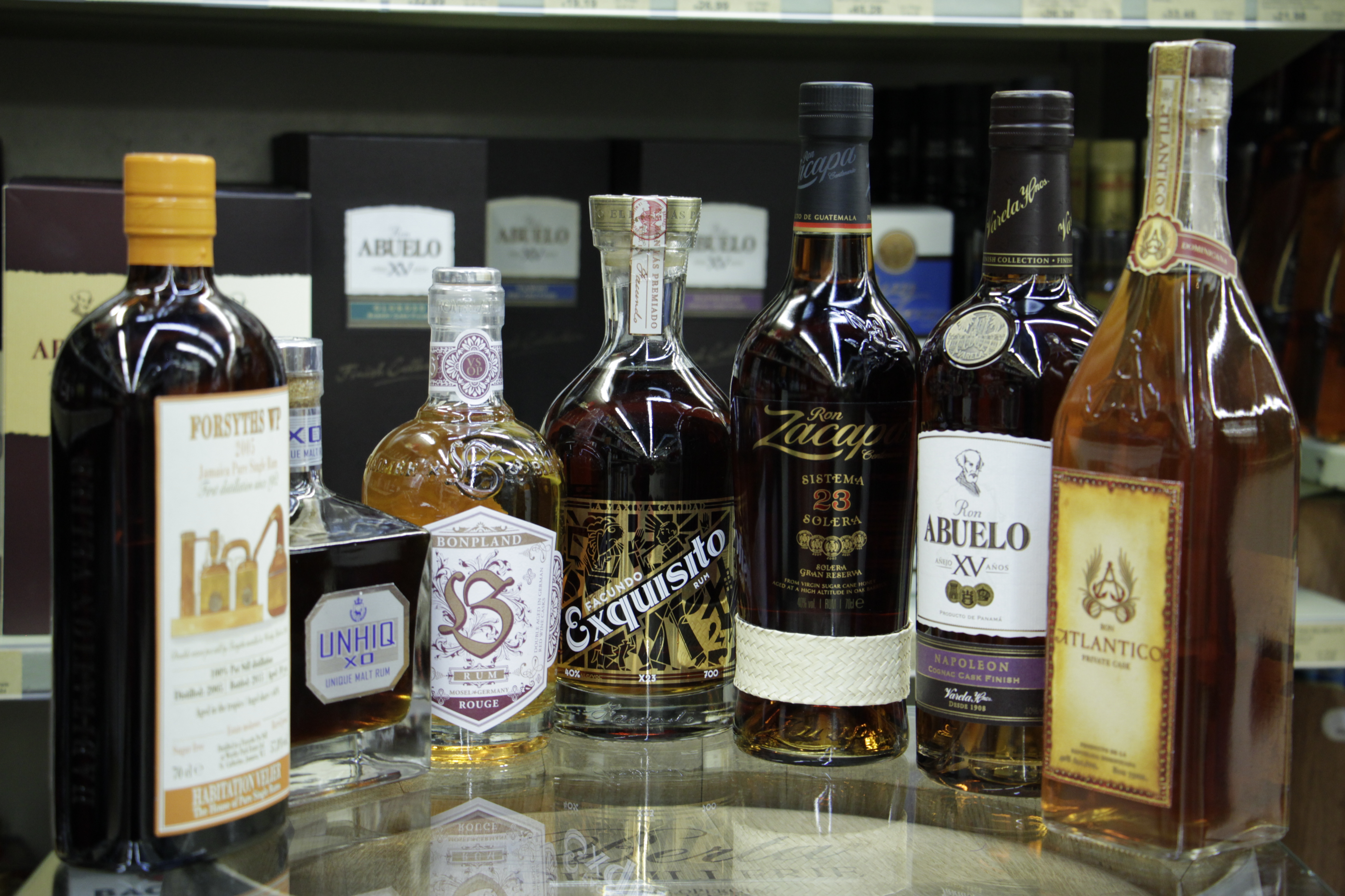 guter Rum zum pur trinken