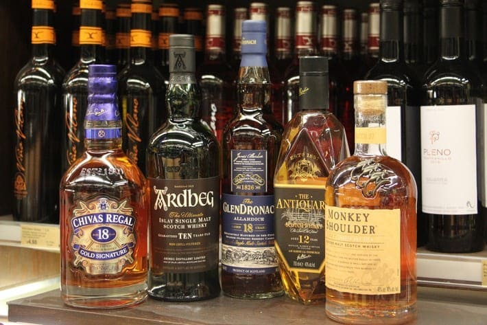 Whiskysorten