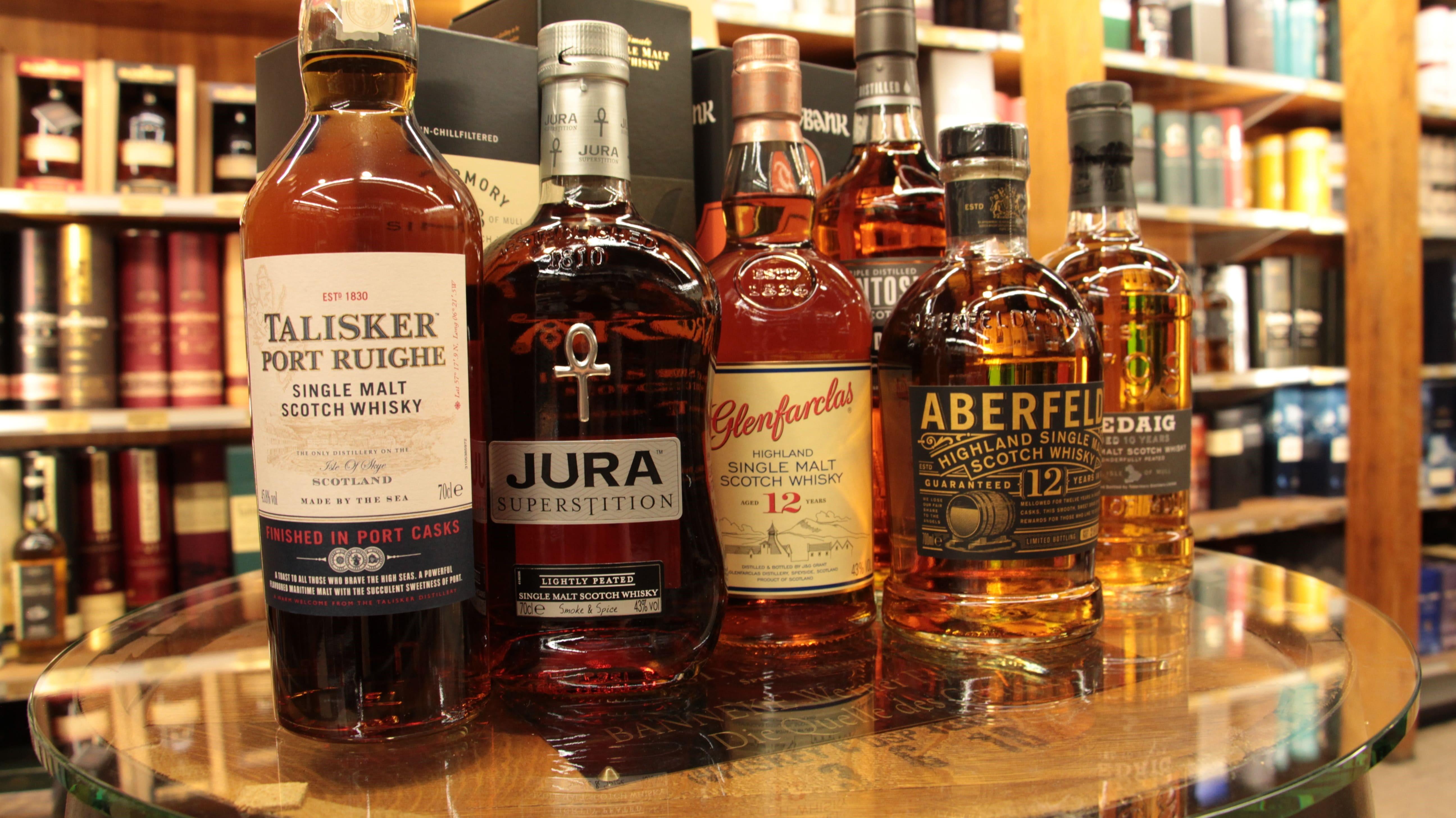 Guter Whisky - verschiedene Regionen und Empfehlungenn