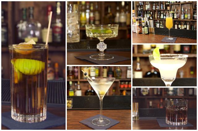 Einfache Cocktails