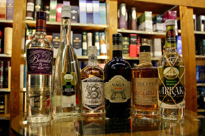 Guter Rum und andere Spezialitäten aus Indonesien