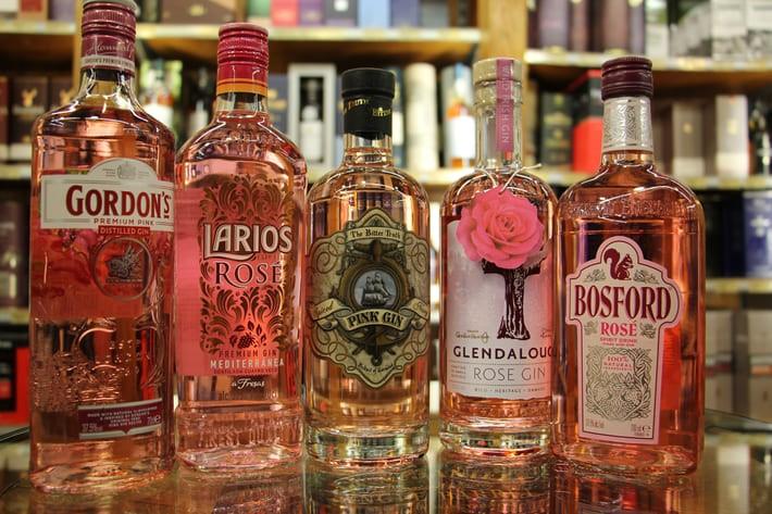 Pink Gin - die Trendspirituose