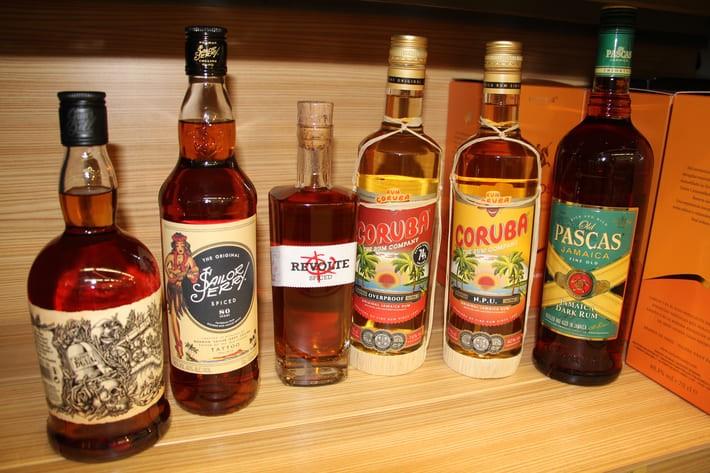 Guter Rum für Lumumba