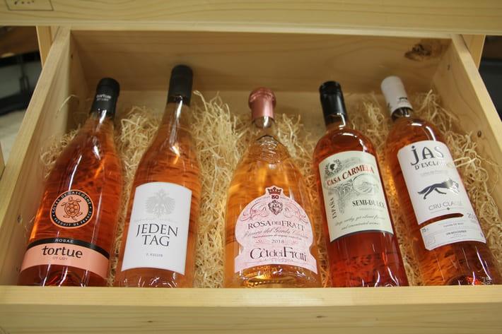 Rosé Wein - zarte Farbe, voller Geschmack