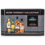 Irischer Whiskey: Cooley-Collection-4-Miniaturen